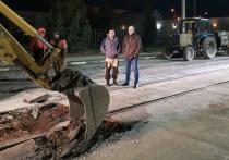 В Туле по ночам наносят дорожную разметку