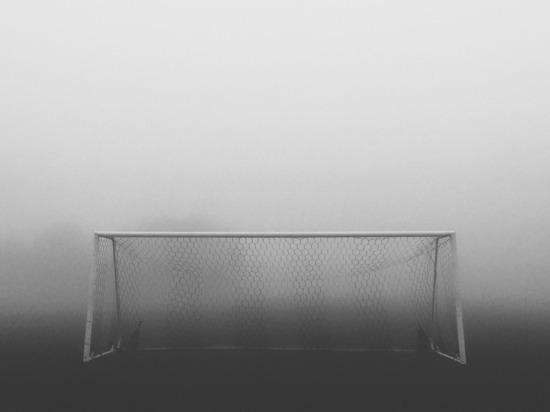 В Ставрополе в густом тумане сыграли футбольный матч