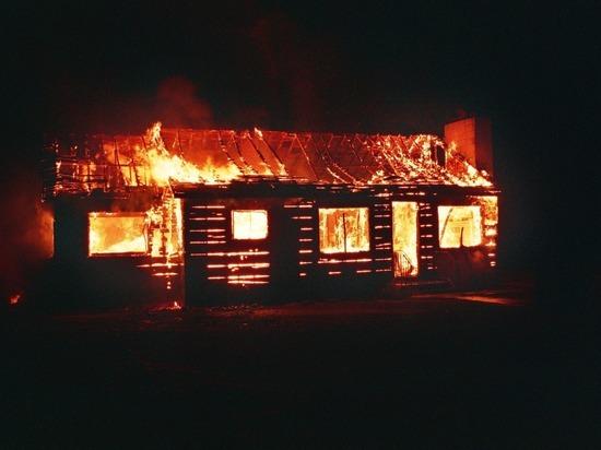 Двое детей погибли после пожара в Хакасии