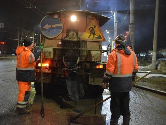 Объемы ямочного ремонта в Иванове растут