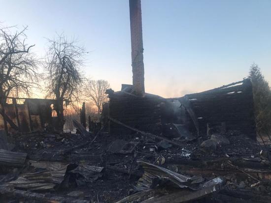 Опознано тело погибшего на пожаре под Тарусой