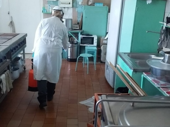 Помещения школы в Карелии, где зафиксировали вспышку норовируса, продезинфицируют