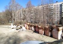 Рязанец пожаловался на помойку напротив детского сада № 138