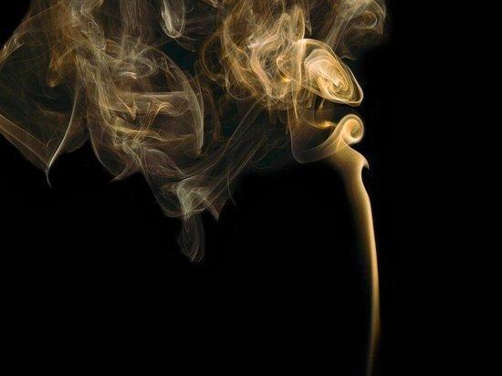 В Кемерове из-за неосторожности при курении загорелся балкон
