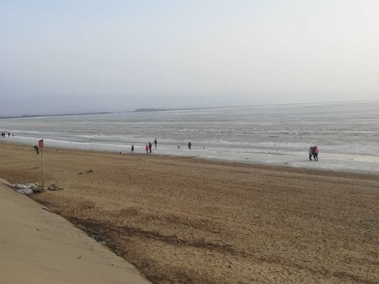 Уровень Амура у Хабаровска 12 апреля 2021: вода на отметке 194 сантиметра