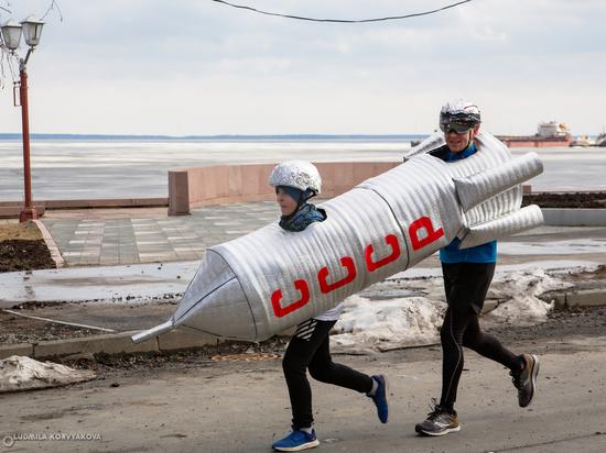 Спортивный космический фан-забег состоялся в Петрозаводске