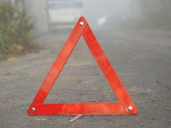 Опубликовано видео лобового столкновения автомобилей на Кутузовском проспекте