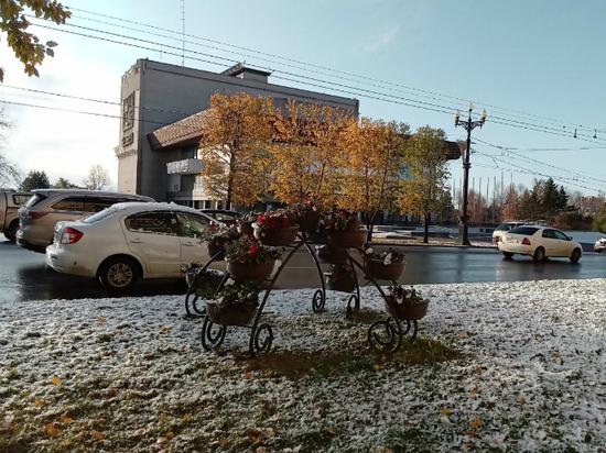 В Хабаровский край 13 апреля снова придет снежный циклон