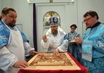Архиепископ освятил новый храм в Аксарке