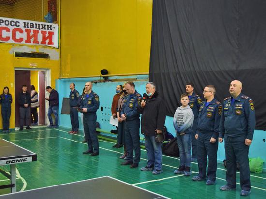 Ивановские спасатели провели открытый турнир по настольному теннису