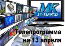 Публикуем программу передач самых популярных каналов на 13 апреля 2021 года