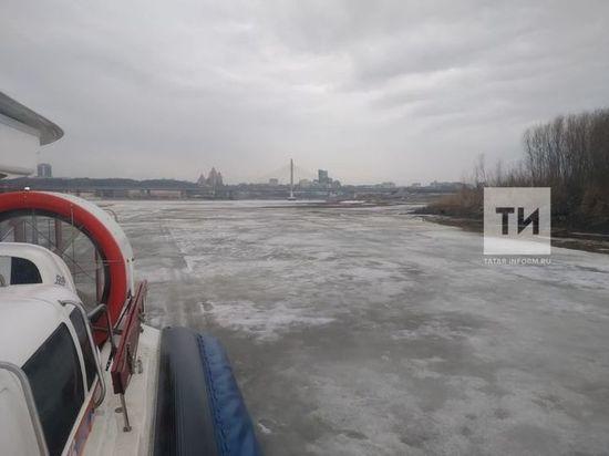 В Казанке спасатели обнаружили подо льдом тело рыбака