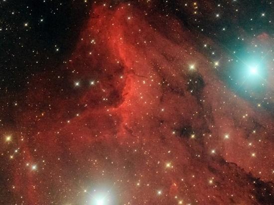 Туманность Пеликан и Млечный Путь запечатлел пскович