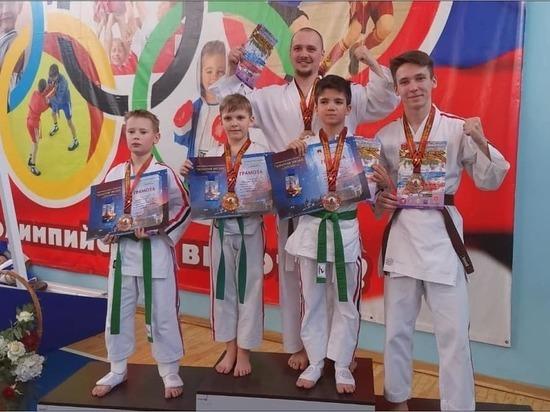 Спортсмены из Серпухова победили в Спартакиаде боевых единоборств