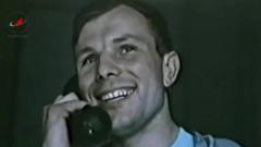 Роскосмос опубликовал уникальные архивные кадры с Юрием Гагариным