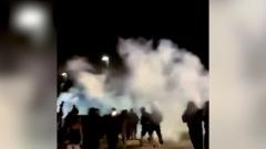 Протесты из-за убийства афроамериканца в США попали на видео