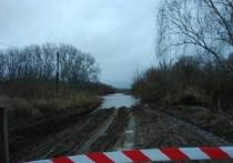 Плюс один: мост в Курманаевском районе уходит под воду