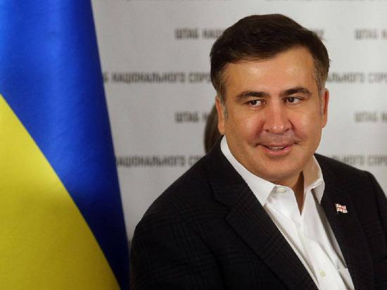 """Саакашвили пообещал """"защищать Одессу до конца"""" от России"""