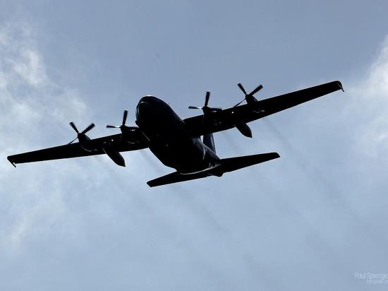 На Украину за сутки прибыли два военно-транспортных самолета США
