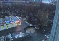 Сегодня в Челябинске перекрыли проезд по улице Чайковского на участке отКомсомольского проспекта доулицы Куйбышева