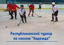Завтра в Марий Эл стартует турнир по хоккею «Надежда»