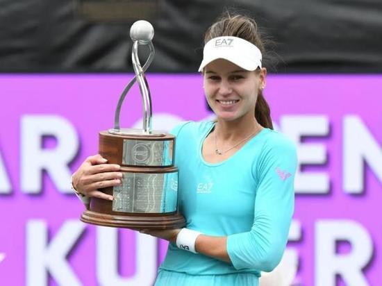 Кудерметова: Я очень горжусь своим первым титулом WTA