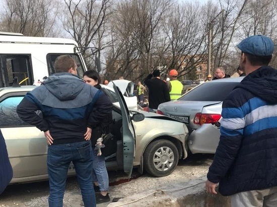 Виновнику массового ДТП на мосту через Трубеж в Рязани стало плохо за рулем