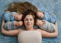 15 января в Волгоградском перинатальном центре Виктория Маркович родила четверых мальчиков