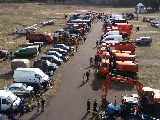 Губернатор Тверской области проверил готовность сил и средств к пожароопасному периоду