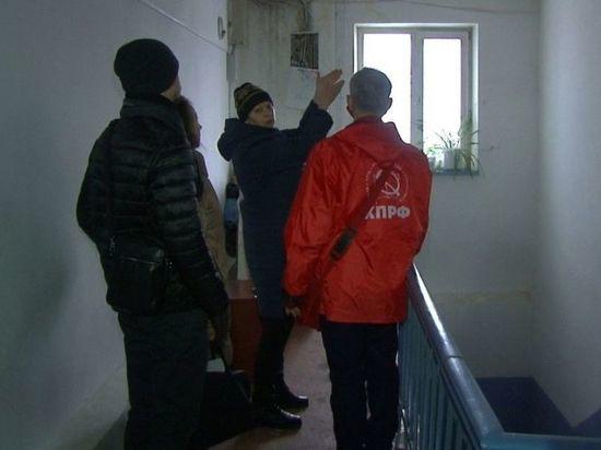 В Омске в Старом Кировске жильцы дома судятся из-за текущей крыши