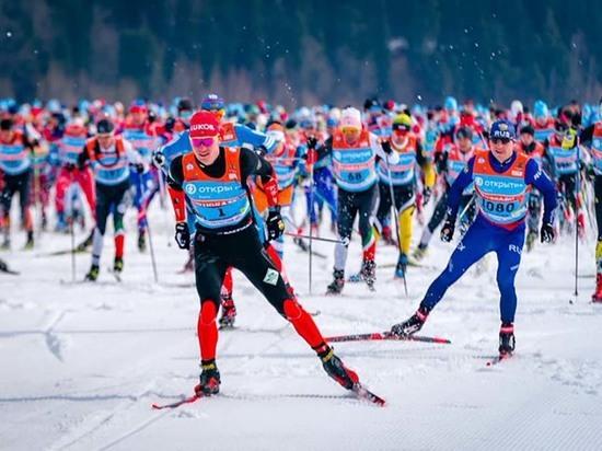 Югорский лыжный марафон собрал рекордное количество участников