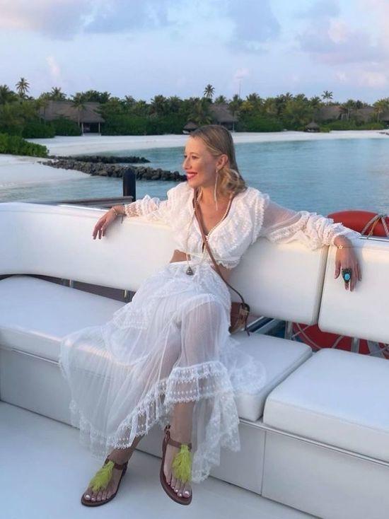 Ксения Собчак сравнила свадьбы в Норильске и на Мальдивах