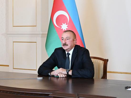 Алиев не увидел у Армении желания подписать мирное соглашение по Карабаху
