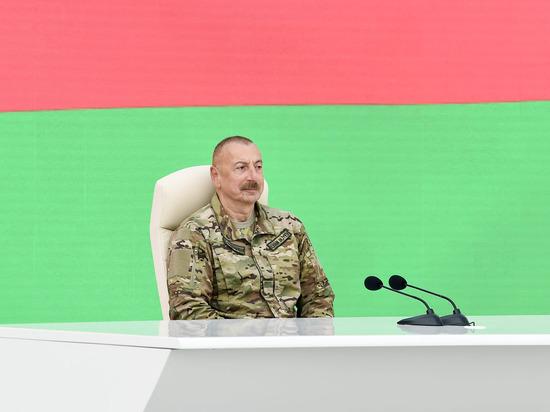 Алиев рассказал об обсуждении с Путиным «Искандеров» в Карабахе