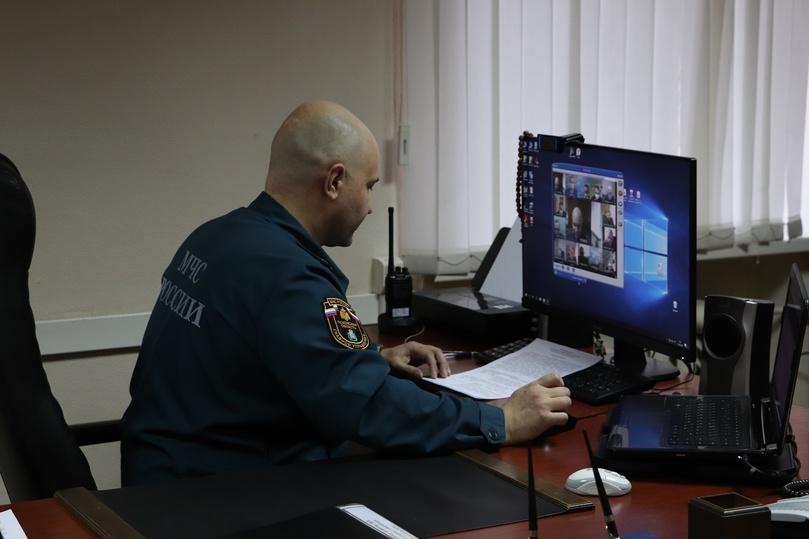 В командно-штабном учении МЧС принимает участие Псковская область, фото-2