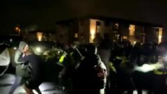 Протесты из-за убийства афроамериканца в Миннесоте переросли в погромы: видео