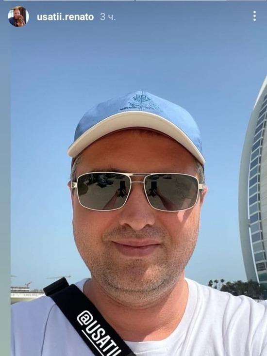 В разгар эпидемии мэр Бельц Ренато Усатый продолжает отдыхать в Дубае