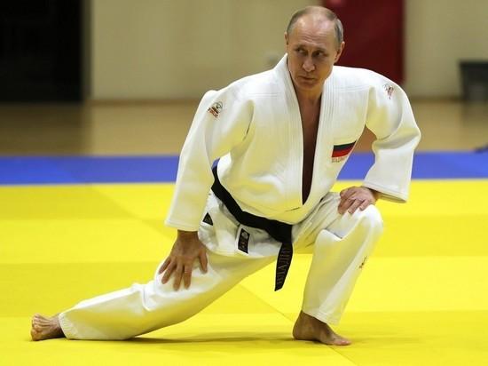 Воин Путин в кимоно «прорекламировал» соревнования по самбо в Африке