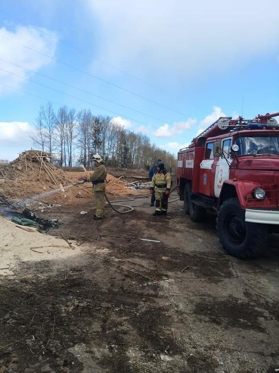 Власти Тисульского округа прокомментировали многодневный пожар на крупной свалке