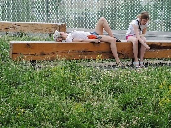 В Москве установлен рекорд тепла для 13 апреля