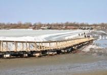 В Увате закрыли ледовую переправу через Иртыш