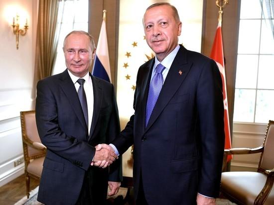 Эрдоган завил о неизменности отношения Турции к России