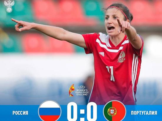 Женская футбольная сборная России вышла на Евро-2022