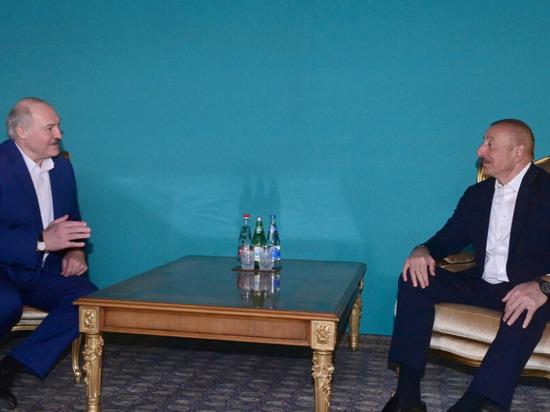 В Баку неформальная встреча Алиева и Лукашенко продолжалась пять часов
