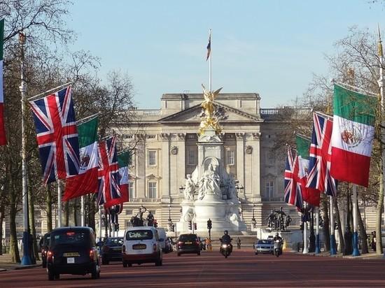 Близ Букингемского дворца в Лондоне задержали человека с топором