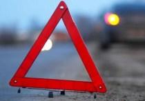 Водитель грузовика Toyota врезался в авто на перекрестке в Краснокаменске