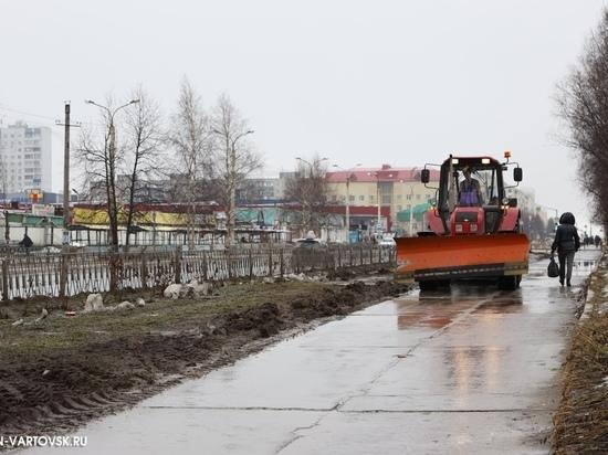 Проблемные тротуары в Нижневартовске будут реконструированы
