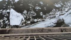 Ледоход на реке Томь в Кемерове