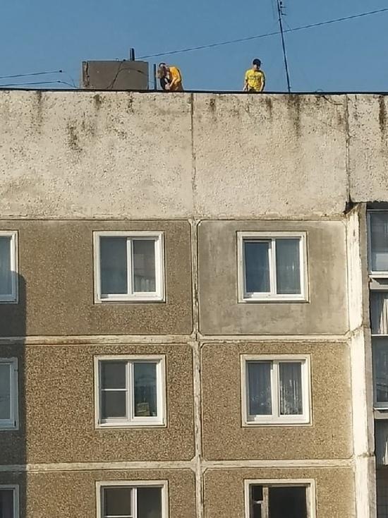 В Ивановской области четыре подростка устроили рандеву на крыше высотки