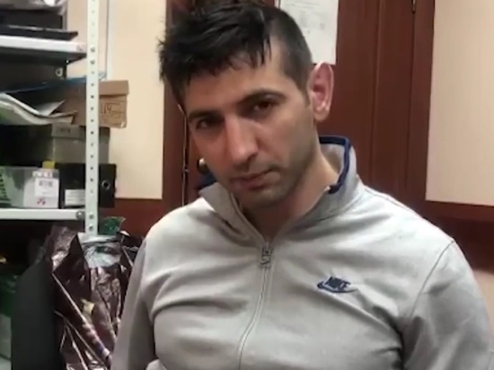 Следственный комитет России выложил видеозапись допроса, устроенного предполагаемому убийце вора в законе Али Гейдарова по прозвищу Алик Рыжий